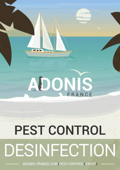 pest control yacht boat french riviera